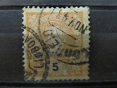 A2P1 PORTUGAL 1895-1905 5r USED