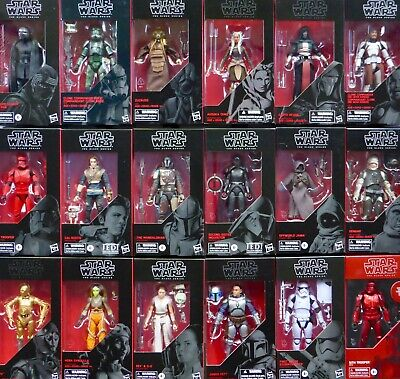 "Star Wars New Non Mint Packaging Black Series 6"" Inch Figure Archive Solo + Misb"