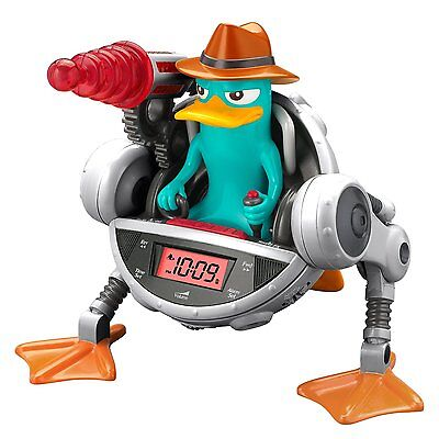 Phineas And Ferb Agent P Snooze-inator Alarm Clock Light Up Laser Blaster *New*