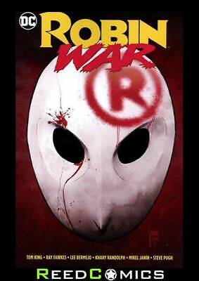 ROBIN WAR HARDCOVER New Hardback Collects Robin War #1-2, Plus Crossover Issues