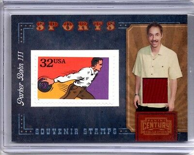 2010 PARKER BOHN III Panini Century Collection Bowlin Stamp Swatch Jersey 91/250