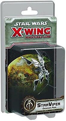 Star Wars X-Wing StarViper X Wing Expansion Pack Fantasy Flight Games