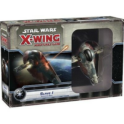 Star Wars X-Wing Slave 1 One X Wing Expansion Pack Fantasy Flight Games