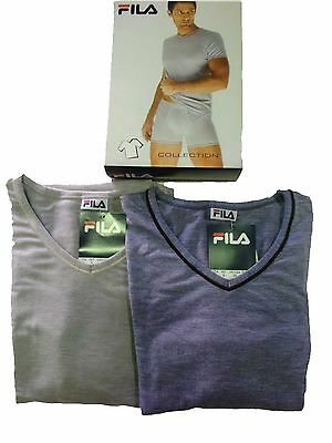 FILA t-shirt men's underwear linea FEEL NATURAL art 5601.4