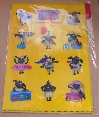 Official Timmy Time * A4 Clear File Folder * Shaun the Sheep Cute Japan