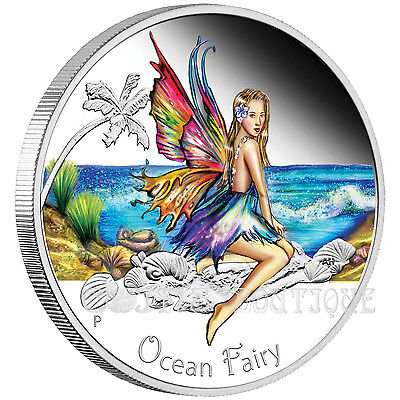 Ocean Fairy silver proof coin perfect gift itemTuvalu 2016