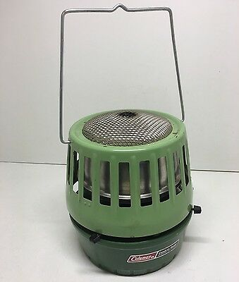 Vintage 1972 Coleman Catalytic Heater 3000-5000 BTU Ice Fishing Camping Hunting