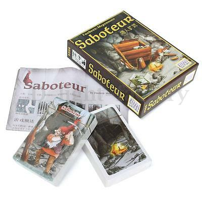Funny Family Party Card Game Vintage Saboteur Path Action Gold Stone Nugget Gift