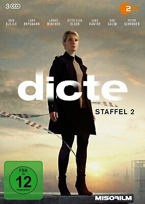 Dicte - Die komplette Staffel 2 # 3-DVD-BOX-NEU