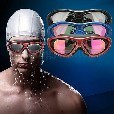Adjustable UV Anti-fog Waterproof Racing Swim Swimming Goggles Triathlon Glasses