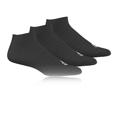 Adidas Performance No-Show T Mujer Negro Entrenar Deporte Calcetines 3 Pack