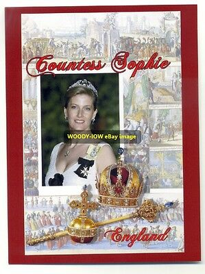 q923 - Sophie , Countess of Wessex - Royalty postcard
