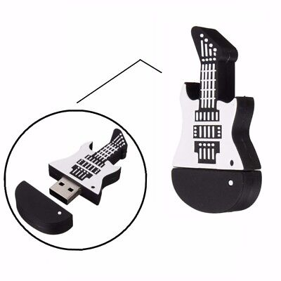 32GB USB 2.0 Moda Guitarra Guitar Memoria Flash Pendrive Memory Stick Gift