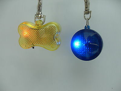 Flashing Dog Collar Light Flashing Safety at Night Dog Collar Tag