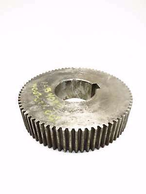 Steel 4-3/4In Bore 75-Tooth Spur Gear 12-3/4In Od D524447