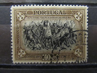 A2P2 PORTUGAL 1928 40c USED