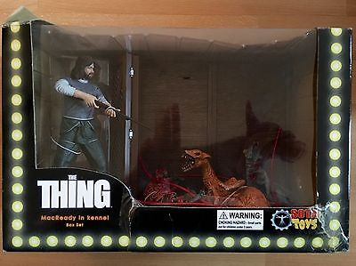 Sota Toys The Thing Macready Monster in Kennel Box Set