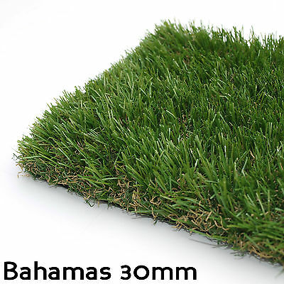 Evergrass™ Bahamas 30mm Artificial Grass, Astro Turf, Landscaping Natural Lawn