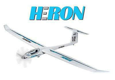Brand New Multiplex Heron 2.4M Meter Kit Rc Remote Control Glider M214276 !!