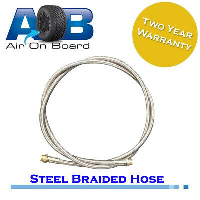 Air hose 202 stainless steel braided airline air compressor tank heat proof 1.5M