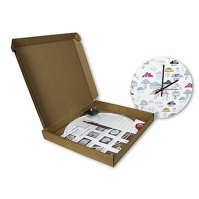 clock making kit make your own clock 30cm diameter