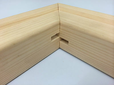 Stretcher Bars for Artists Create your own Canvas, 18MM, 8inch Thin