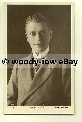 b2000 - Stage Actor - Cyril Maude - postcard
