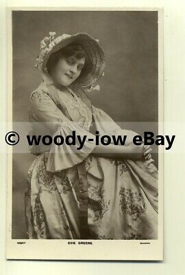 b2025 - Stage Actress - Evie Green - postcard