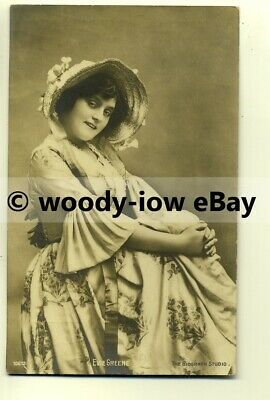 b2027 - Stage Actress - Evie Green - postcard