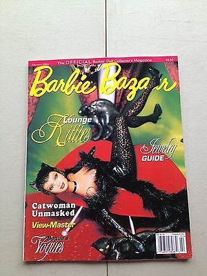 Barbie Bazaar February 2004 Magazine Doll Book Catalog Catwoman Lounge Kitties