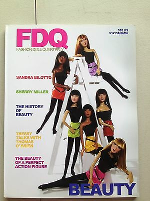FDQ Fashion Doll Quarterly Magazine Barbie The 2004 Beauty Edition