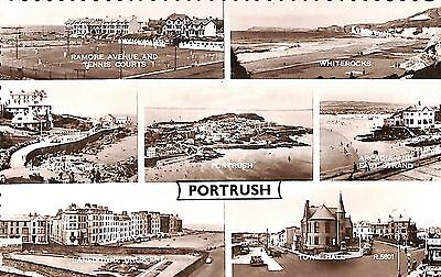Northern Ireland Postcard Portrush Multiview D0 001