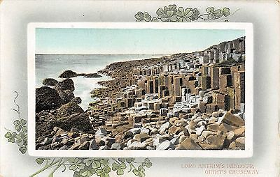 Northern Ireland Postcard Giants Causeway Lord Antrims  Parlour E0 020