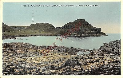 Northern Ireland Postcard The Stookans From Grand Causeway Giants Causeway C0 07