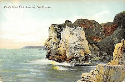 Northern Ireland Postcard Giants Head Rock Portrush Co Antrim  J0 003