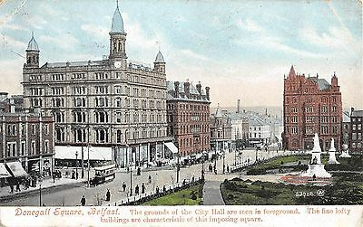 Northern Ireland Postcard Belfast Donegall Square  H0 020