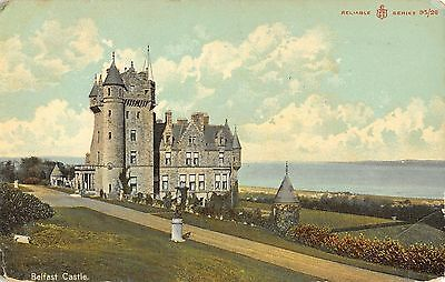 Northern Ireland Postcard Belfast CAstle  I0 020