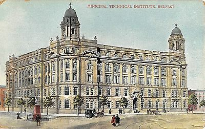 Northern Ireland Postcard Belfast Municipal Technical Institute  H0 060