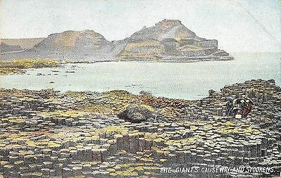 Northern Ireland Postcard Giants Causeway The Stookens  F0 066