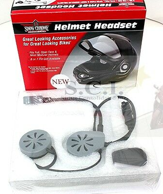 HELMET HEADSET 7 PIN FOR HARLEY DAVIDSON 1998 and UP BIG BIKE PARTS 13-204