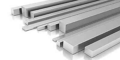 Solid Aluminium Square Bar various Lengths Lathe Milling Machine and lathes
