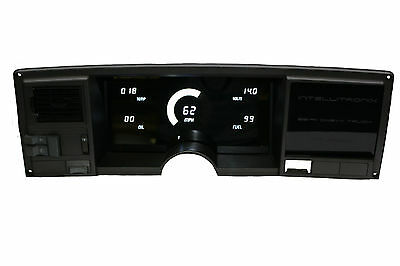Chevy Truck DIGITAL DASH PANEL FOR 1988-1991 Chevy GMC Intellitronix WHITE LEDs!