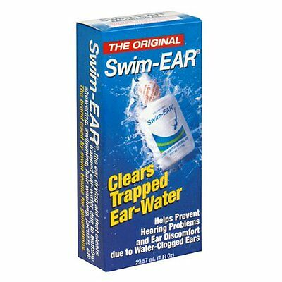 3 Pack - Swim Ear Ear-Water Drying Aid Drops 1oz Each