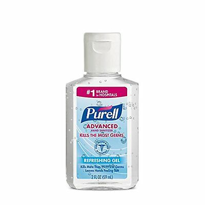Purell Instant Hand Sanitizer, 2 Ounce Each