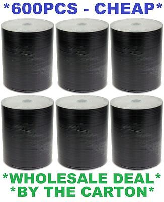600 x DVD-R/DVDR(6 x 100)Blank Disk/Disc Printable/Writeable 600pcs,Pk,Pack Bulk