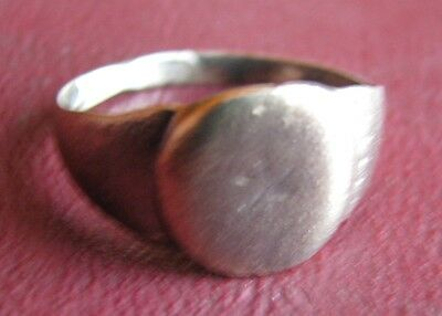 Antique Artifact > 18th Century Bronze Finger Ring  SZ: 8 1/2 US 18.5mm 14403 DR