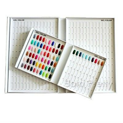216 couleurs Nail Art Display Book Gel Vernis graphique pr Ongle manucure