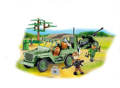 Cobi 24191 Small Army Willys MB with Cannon [Elektronik]