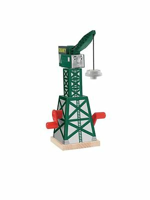 New Thomas & Friends Wooden Railway Cranky The Crane Toy Playset