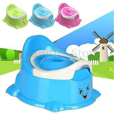 Portable Cartoon Smile Potty Toilet Chair Seat Baby Toddler Children Training